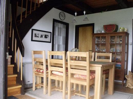 Wohnzimmer FeWo Rhöndistel