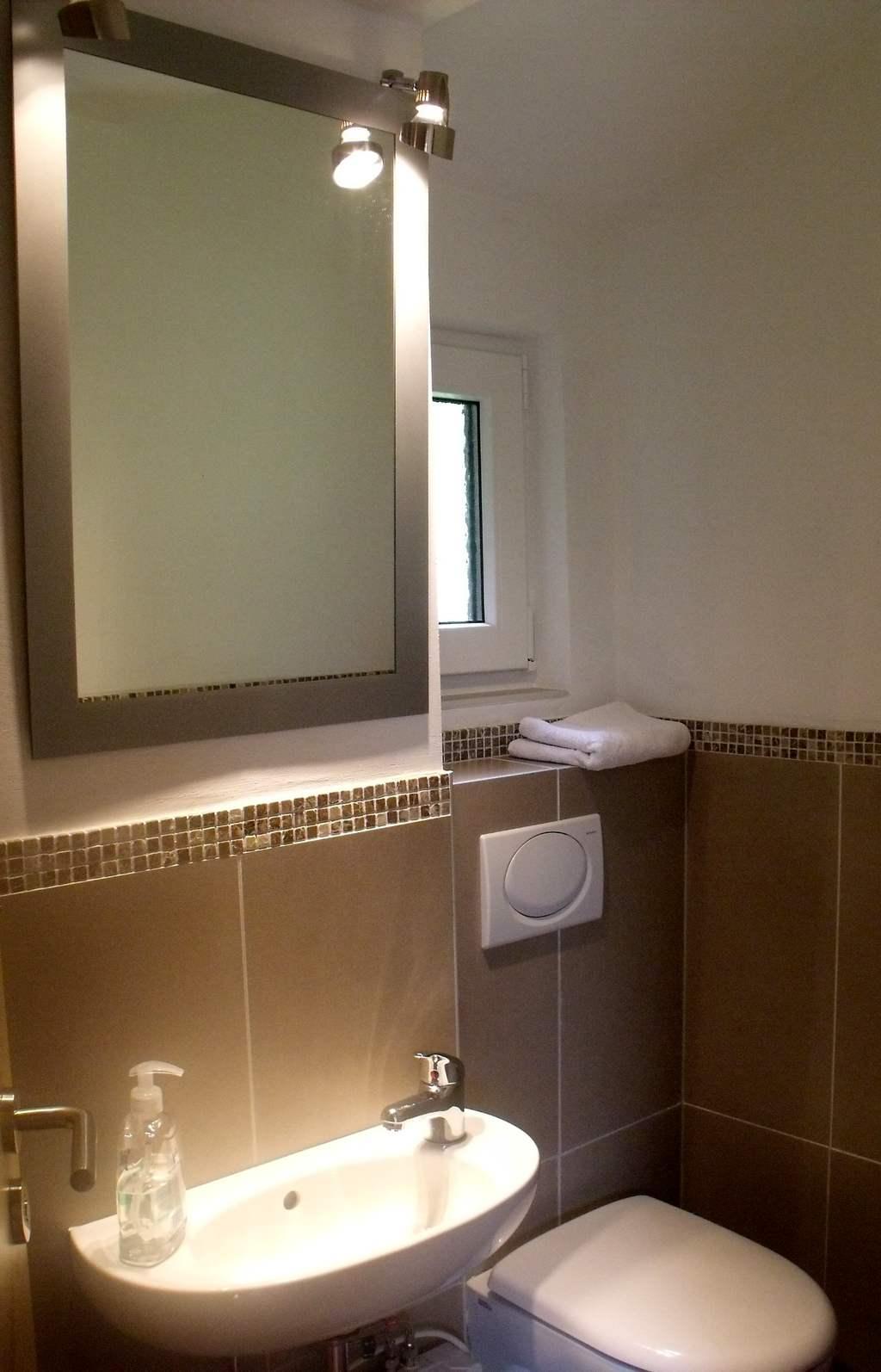 Toilette Ferienhaus Rhöndistel Obergeschoss