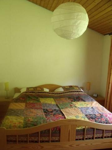 Das erste Schlafzimmer