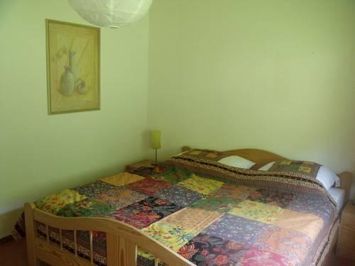 Ferienhaus Rhöndistel - Schlafzimmer
