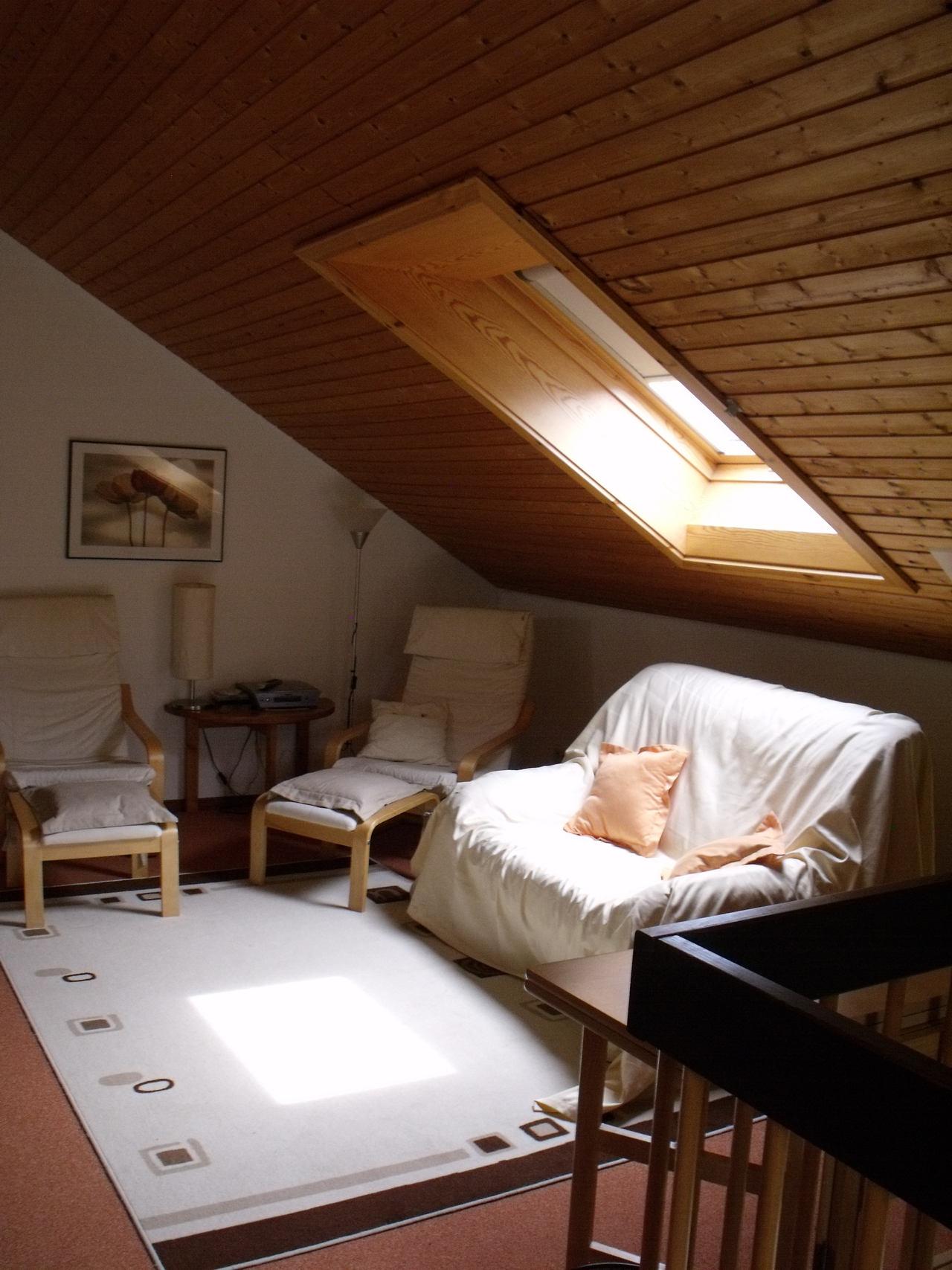 Ferienhaus Rhöndistel - Galerie im Obergeschoss