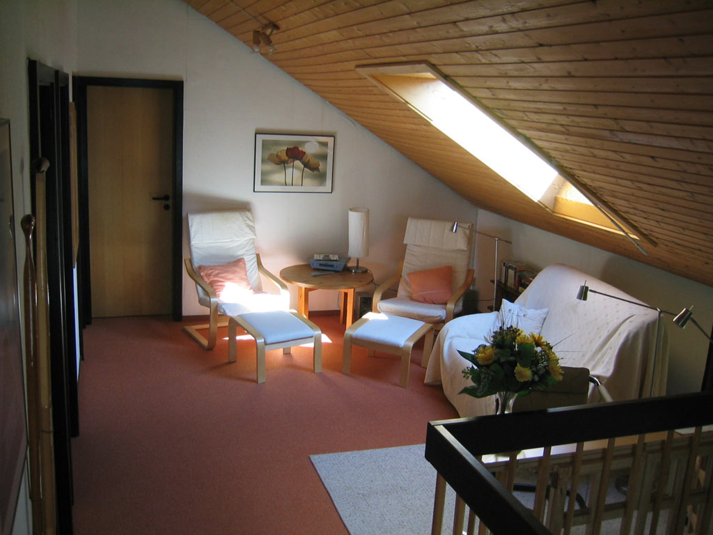 Die Galerie im Obergeschoss